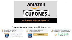 Cupones descuento Amazon